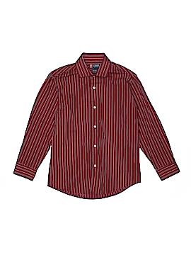 Champs Long Sleeve Button-Down Shirt Size M (Kids)