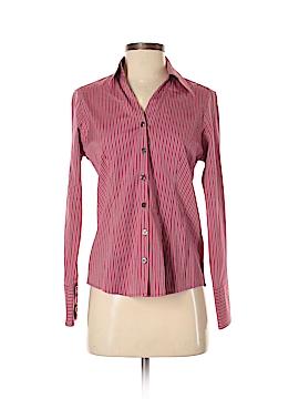 Eddie Bauer Long Sleeve Button-Down Shirt Size S (Petite)