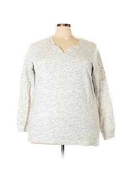 Bobbie Brooks Sweatshirt Size 3X (Plus)