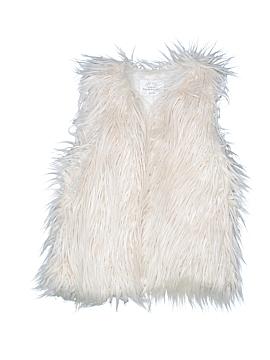 Zara Faux Fur Vest Size 7