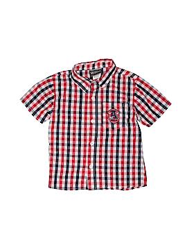 Boyz Wear By Nannette Short Sleeve Button-Down Shirt Size 4