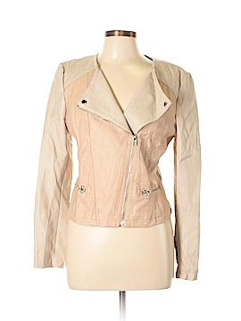 Candie's Women Faux Leather Jacket Size L