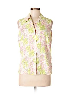 Liz Claiborne Golf Sleeveless Silk Top Size M
