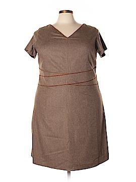 Lands' End Casual Dress Size 22 (Plus)