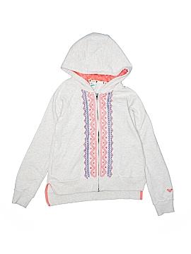 Roxy Girl Zip Up Hoodie Size 12 - 14