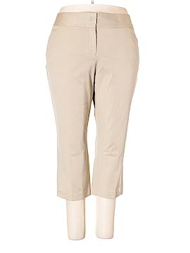 Dana Buchman Khakis Size 18 (Plus)