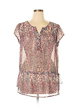 A.n.a. A New Approach Short Sleeve Blouse Size XL