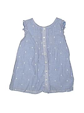 Gymboree Sleeveless Button-Down Shirt Size 7