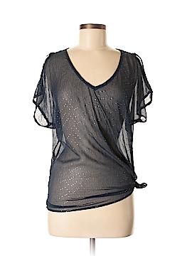 Xhilaration Short Sleeve Blouse Size M