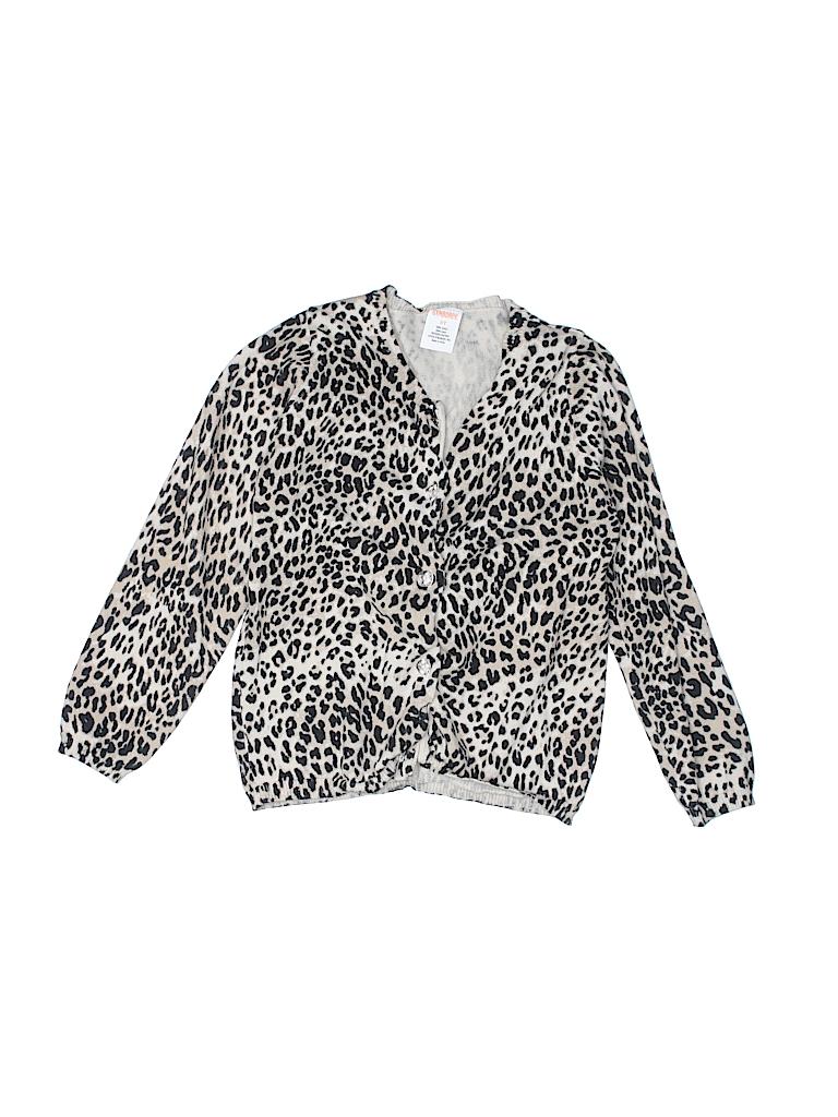 2a75f48bc3c Gymboree 100% Cotton Animal Print Tan Cardigan Size 5T - 78% off ...