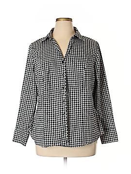 Lane Bryant Long Sleeve Button-Down Shirt Size 20 Plus (4) (Plus)