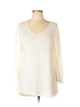 Ellen Tracy 3/4 Sleeve Blouse Size M
