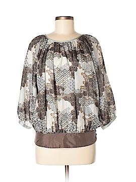 Vero Moda 3/4 Sleeve Silk Top Size M
