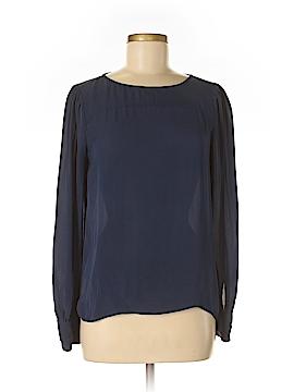 J. Crew Long Sleeve Silk Top Size 6