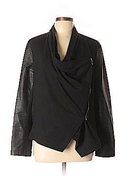 INC International Concepts Faux Leather Jacket Size XL