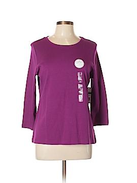 Kim Rogers Long Sleeve T-Shirt Size L (Petite)