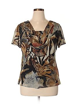 DressBarn Short Sleeve Blouse Size 14