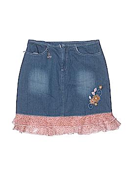 Kahn Lucas Denim Skirt Size 16