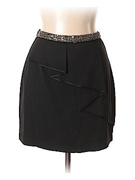Robert Rodriguez Silk Skirt Size 8