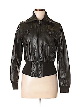 Miley Cyrus & Max Azria Faux Fur Jacket Size L