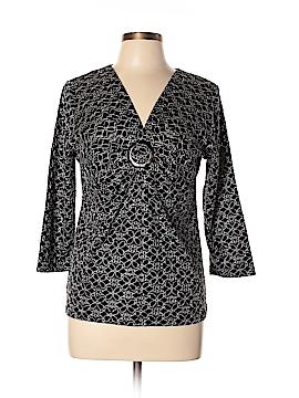 Josephine Chaus 3/4 Sleeve Top Size L