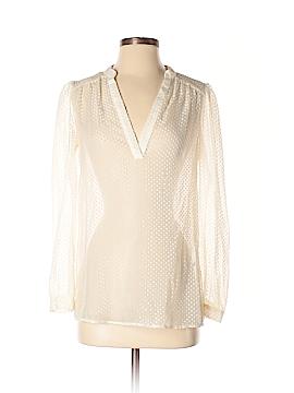 Ruby Ribbon Long Sleeve Blouse Size XS