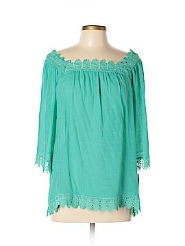 Zac & Rachel 3/4 Sleeve Blouse Size L