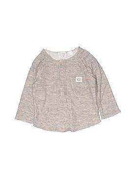 Zara Baby Long Sleeve Henley Size 12-18 mo