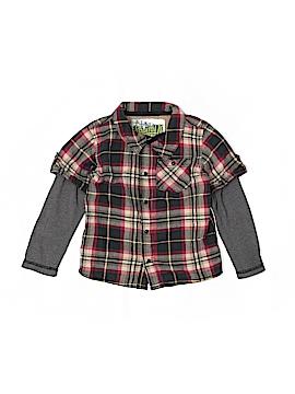 Kapital K Long Sleeve Button-Down Shirt Size 3
