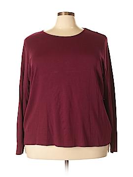 Croft & Barrow Long Sleeve T-Shirt Size 3X (Plus)