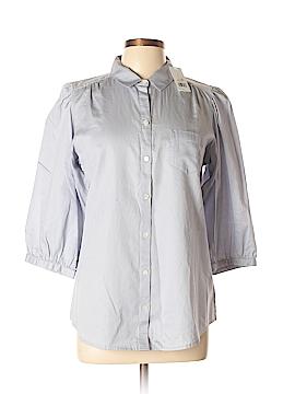 Banana Republic 3/4 Sleeve Button-Down Shirt Size L