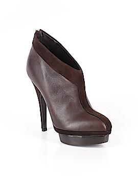 Yves Saint Laurent Rive Gauche Ankle Boots Size 37.5 (FR)