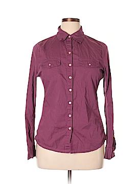 Converse Long Sleeve Button-Down Shirt Size XL