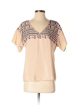 Chelsea & Violet Short Sleeve Blouse Size XS