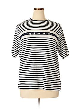 Cathy Daniels Short Sleeve T-Shirt Size 1X (Plus)