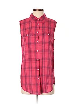 Sundry Sleeveless Button-Down Shirt Size Sm (1)