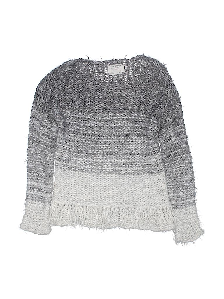 Zara Girls Pullover Sweater Size 8