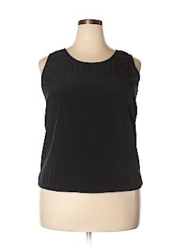 Preston & York Sleeveless Blouse Size 18 (Plus)