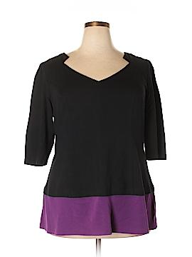 EShakti 3/4 Sleeve Top Size 2X (Plus)