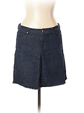 Elie Tahari Denim Skirt Size 10