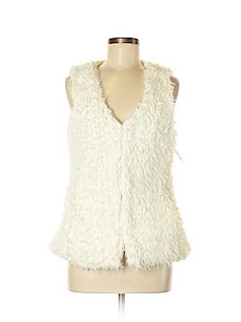 New Look Faux Fur Vest Size M
