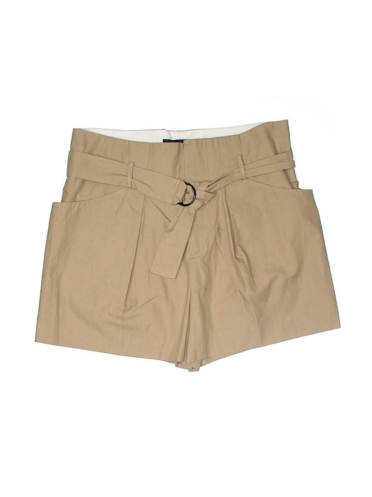 Isabel Marant Women Khaki Shorts Size 38 (FR)