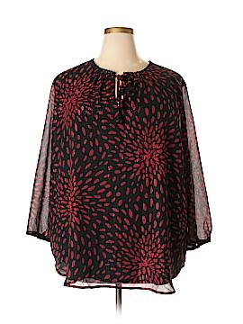 Liz Claiborne 3/4 Sleeve Blouse Size 3X (Plus)