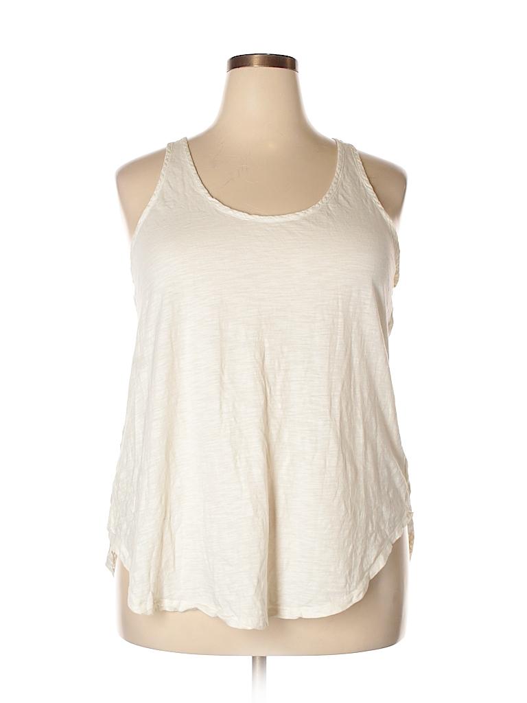 d08d11d7b2 Merona 100% Cotton Solid Beige Sports Bra Size XXL - 44% off | thredUP