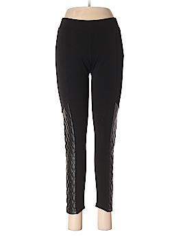 J Cooper Faux Leather Pants Size M