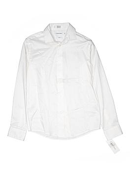 Calvin Klein Long Sleeve Button-Down Shirt Size 14