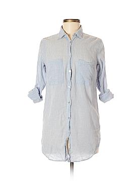 H&M L.O.G.G. 3/4 Sleeve Button-Down Shirt Size 6