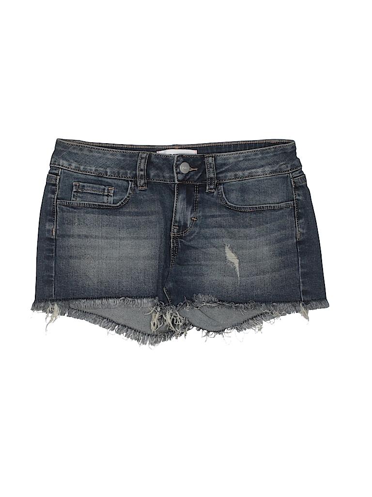 416467f36e9e3 Check it out -- Victoria's Secret Pink Denim Shorts for $11.99 on thredUP!
