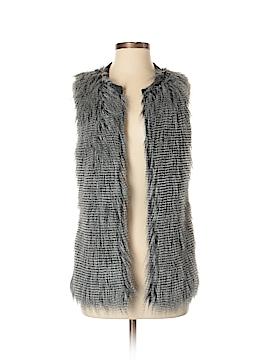 Design History Faux Fur Vest Size S