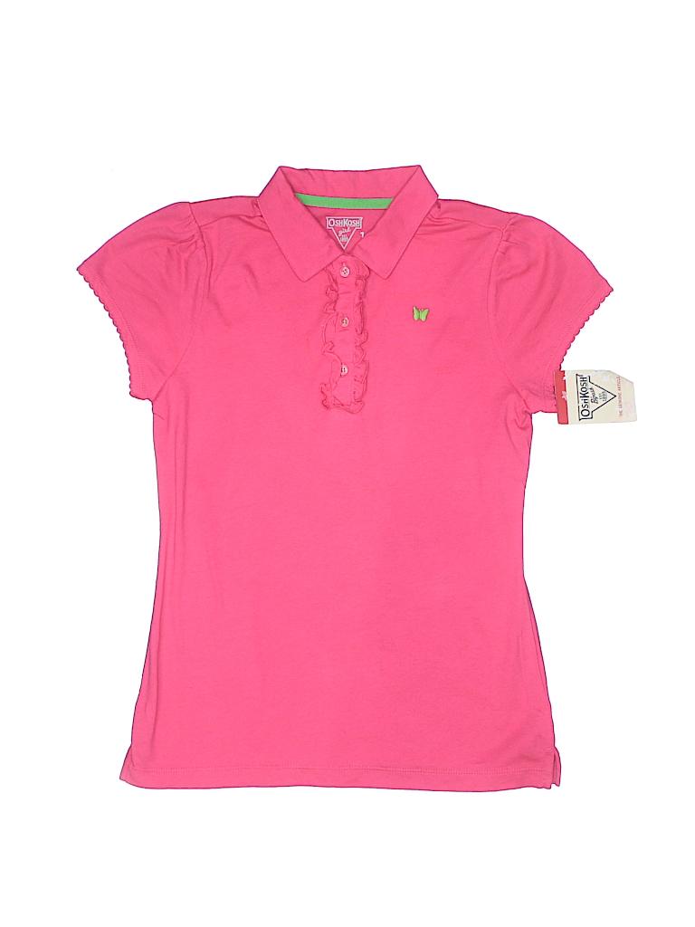 OshKosh B'gosh Girls Short Sleeve Polo Size 12
